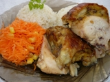 Kuře s žemlovo-máslovou nádivkou recept