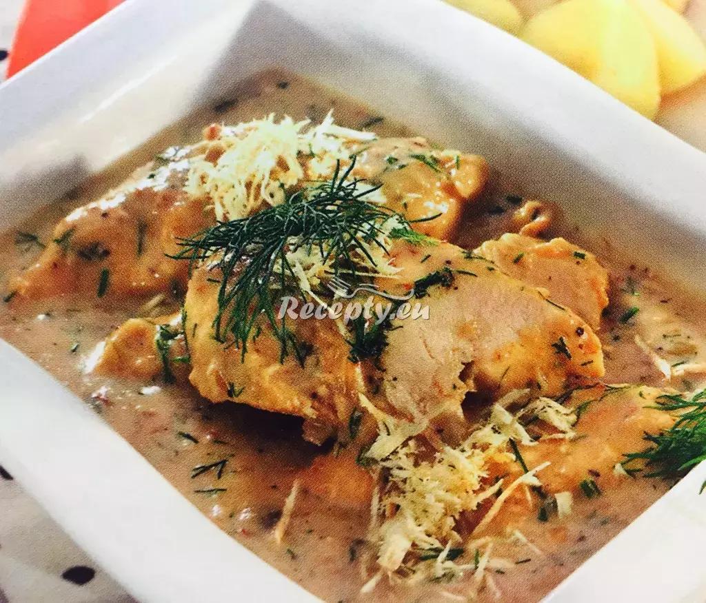 Kuřecí řízky s křenem a koprem recept  drůbeží maso