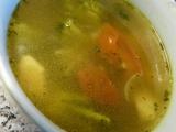 Králíčí vývar s bylinkami a zeleninou recept