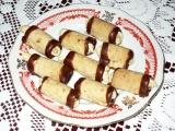 Ořechové minitrubičky recept