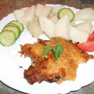 Vepřové maso s celerem a sýrem recept