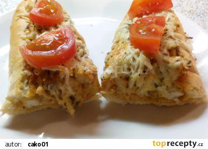 Bageta plněná kuřecím masem recept