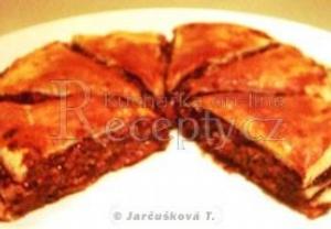 Rychlý dort z listového těsta