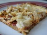 Cuketová pizza s kuřecím masem recept