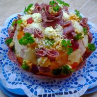 Chlebový dort Hostim recept