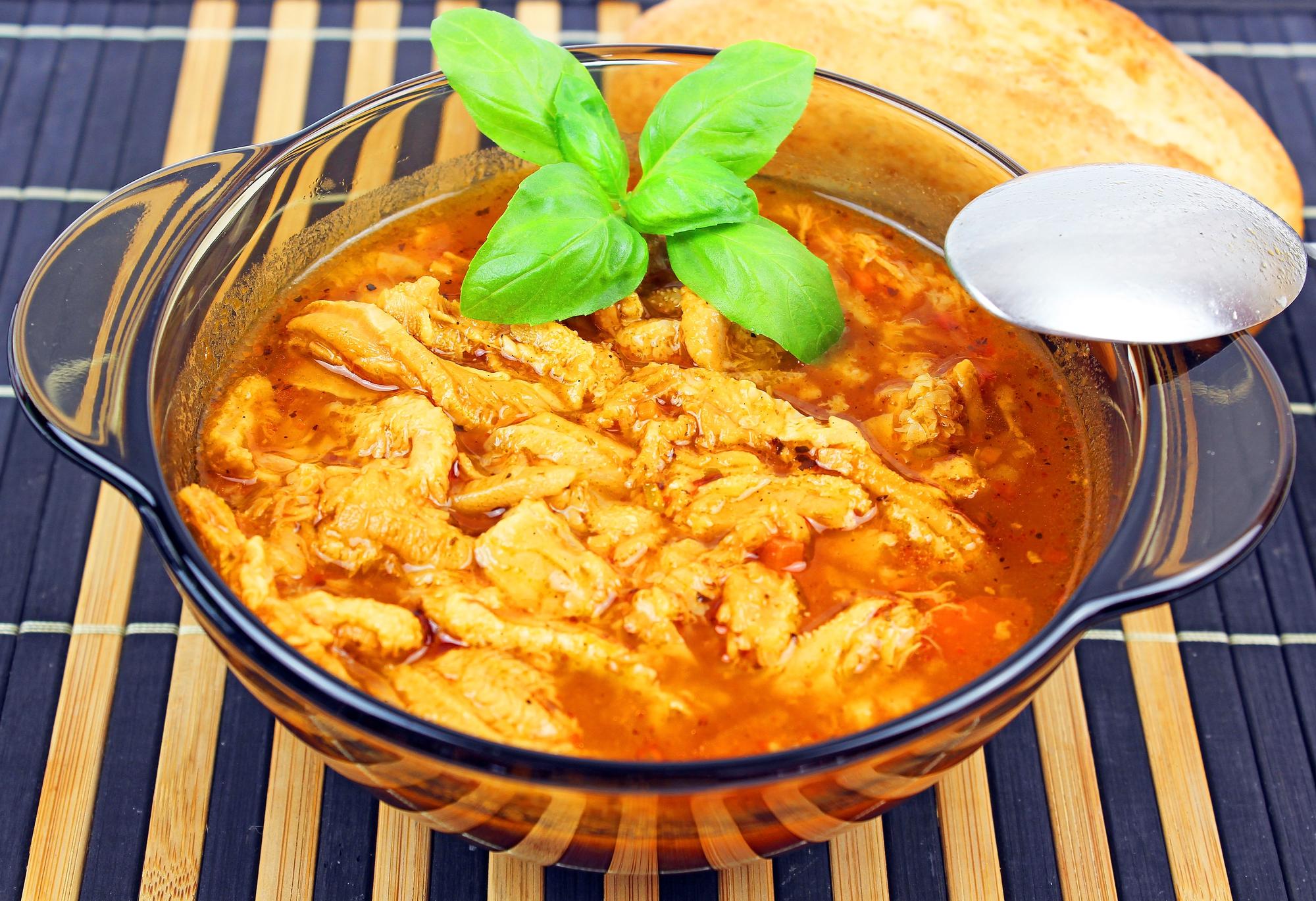 Kořeněná dršťková polévka recept