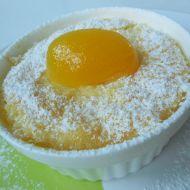 Rýžový nákyp s kompotovanými meruňkami recept