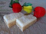 Citronové kokosové řezy recept