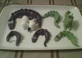 Zvířátka  ještěři recept
