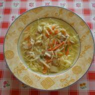 Kuřecí polévka s domácími nudlemi recept
