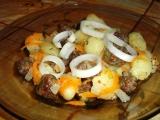 Gnocchi s kuličkami z hovězího mletého masa a mrkví recept ...