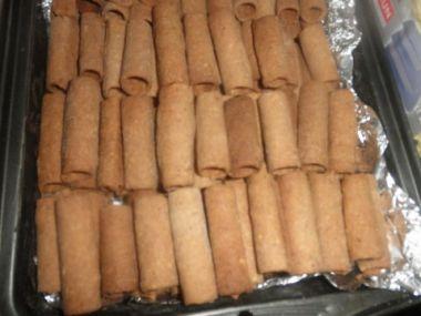 Karamelové trubičky