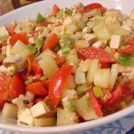 Zeleninový salát s tofu a mozzarellou recept