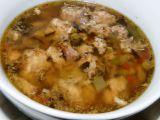 """Králičí polévka s libečkem a """"bobky"""" recept"""