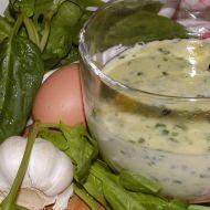 Jemná špenátová polévka recept