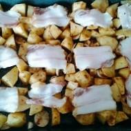 Pečené brambory se špekem recept