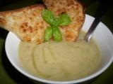 Pórkový smetanový krém se sýrovými tousty recept