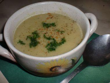 Kořeněná květáková polévka podle Dity P.