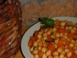 Cizrna s mrkví recept