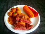 Hovězí steak a houbová omáčka recept