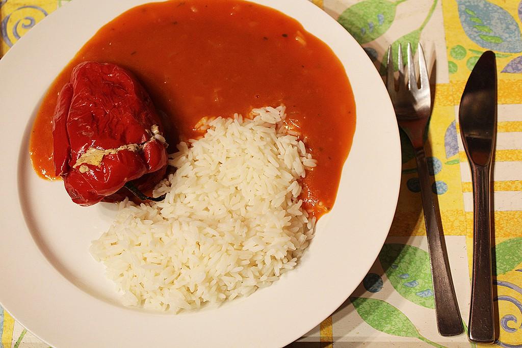 Papriky plněné masem a papričkami jalapeňo recept