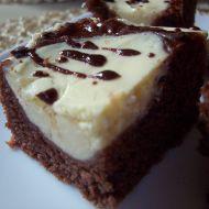 Kakaovo-tvarohový moučník recept