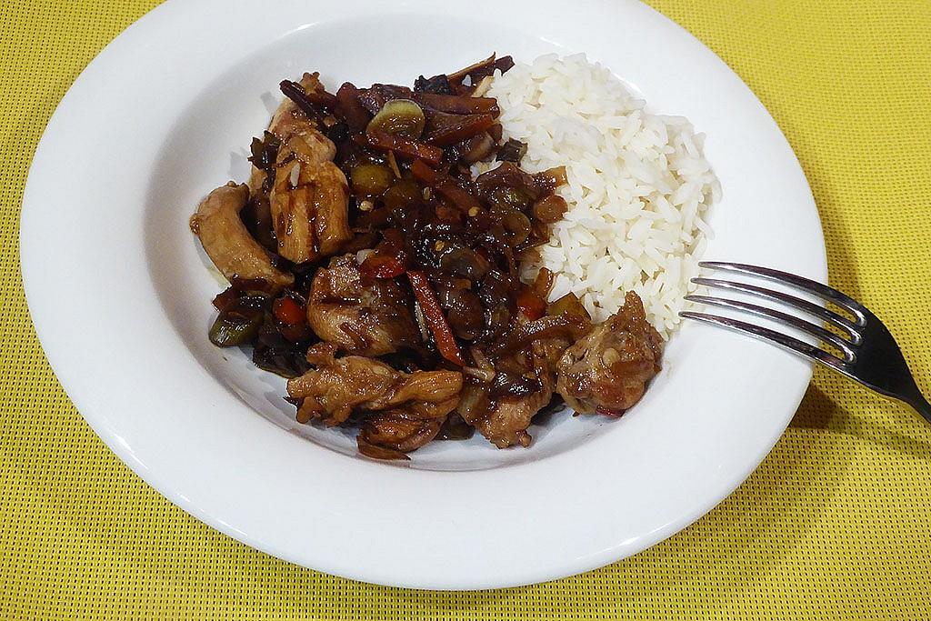Kuře v čínské směsi recept