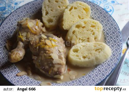 Staročeské kuře na zázvoru recept