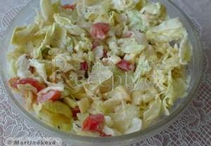 Jednoduchý lehký zeleninový salát