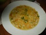 Strouhaná mrkvičková polévka se zázvorem recept