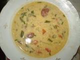 Fazolková polévka s kroupama recept