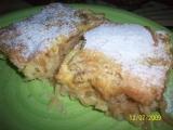 Jablečný koláč naruby recept