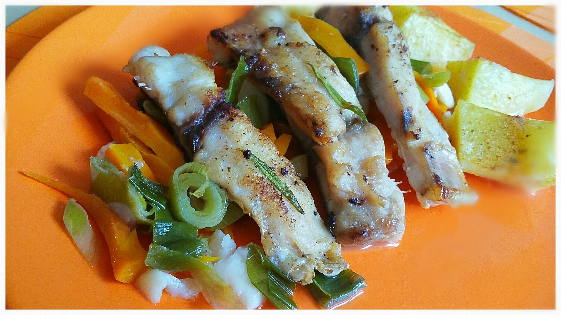 Kapřík pečený na zelenině recept