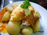 Kuřecí řízek se sýrem a smetanou recept