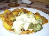 Kuřecí plátek s brokolicovou čepičkou recept