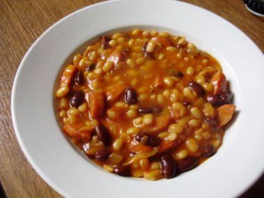 Rychlé kovbojské fazole