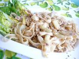 Sezamové nudle s fazolkami recept