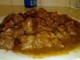 Paprikáš z hovězího masa recept