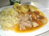 Selský pečený bůček recept