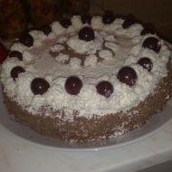 Schwarzwaldský bezlepkový dort recept