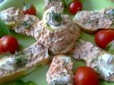 Kanapky s lososovou pomazánkou recept