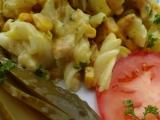 Zapečené těstoviny s kuřecím masem a sýrem gouda recept ...