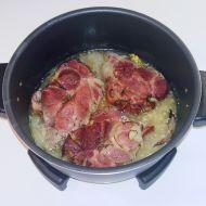 Plněné uzené maso recept