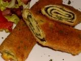 Špenátový závin smažený Retro recept