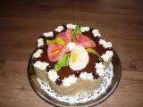 Ořechový dort 12 vajec recept