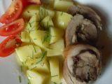 Vepřová roláda s brusinkami, švestkami a jablky recept ...
