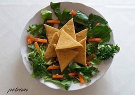 Hrachové lupínky nachos recept