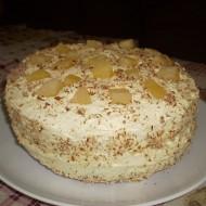 Ananasový dort se šlehačkovým krémem recept