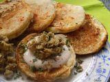 Kynuté bramborovo-sýrové lívanečky s houbovým kaviárem recept ...