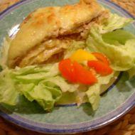 Zapékané vepřové kotlety s bramborem a sýrem recept